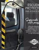Catálogo de Escudo Protector para Interior de Bus